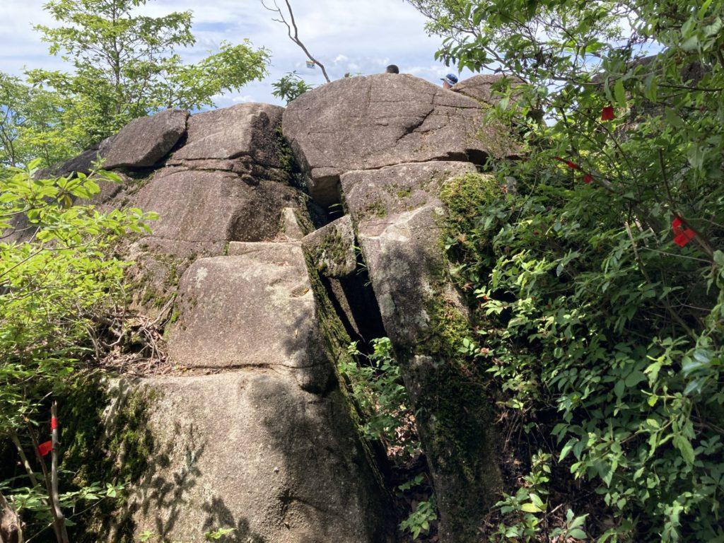 「空奏テラス」の大岩