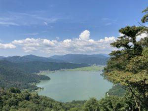 賤ヶ岳、余呉湖一周トレッキング